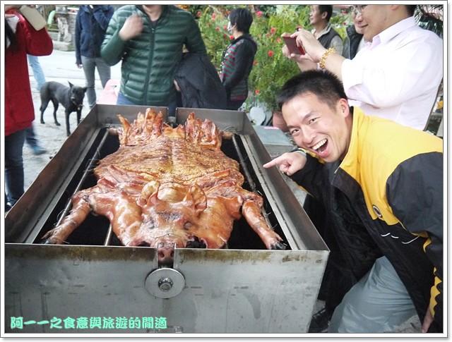 南投武界休閒民宿烤乳豬原住民image093