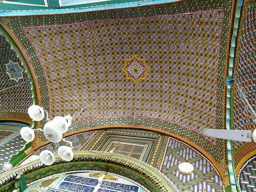 Khanqa Shah Hamdan Entrance porch ceiling