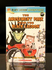 The Amusement Park from the Black Lagoon (Vernon Barford School Library) Tags: park new school fiction jared black mike reading book amusement high humorous ride library libraries fear humor reads books super lagoon humour read paperback cover lee junior novel rides covers bookcover adventures pick middle 27 fears vernon quick recent picks qr bookcovers anxiety paperbacks hubie novels fictional thaler barford softcover quickreads quickread vernonbarford softcovers superquickpicks superquickpick 9780545616416