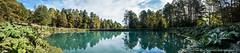 Laguna Verde (ADM_Fotografia) Tags: chile blue autumn naturaleza lake verde green nature water colors river landscapes agua nikon raw cyan reserve paisaje lagoon otoo laguna biological ecological reserva huilohuilo panguipulli ecologica d7100 regindelosros