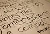 Russian proverb (detail) (Ivan Jerônimo) Tags: brazil pen ink freestyle florianópolis expressive brazilian calligraphy sumi ruling caligrafia 書道 expressiva ブラジル カリグラフィー 西洋 tiralinhas