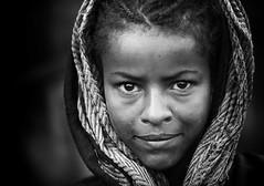 Ragazza etiope (daniele romagnoli - Tanks for 10 million views) Tags: africa portrait bw face eyes nikon occhi afrika ethiopia ritratto bianconero biancoenero ragazza d800 afrique etiopia africaportrait romagnolidaniele bestportraitsaoi elitegalleryaoi