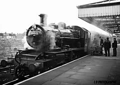 gcr 004 (lesleydoubleday) Tags: railway steam reenactment loughborough greatcentralrailway gcr ivatt2