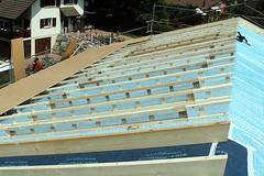 Wohnungsaufstockung mit Aufdachdämmung Wohlenschwil