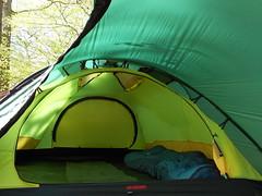 Hilleberg Saitaris's exceptionally well ventilated inner tent (Jens Riis Bojsen) Tags: hilleberg saitaris