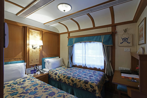 Deccan Odyssey-Twin Bed Deluxe Cabin