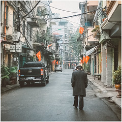 At the 1st day of the Lunar New Year (Goat Year - 2015) (ngtrunganh.2105) Tags: new year streetlife vietnam hanoi lunar 1stday2015