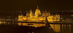 (# 145) Hungarian Parliament Building (metriggg) Tags: longexposure light water night river landscape nikon hungary budapest nightlight