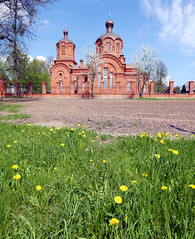 The Orthodox Church in Bialowieza (roomman) Tags: world park wood building tower church nature beautiful forest landscape wooden nationalpark high natural poland polska holy national end bialowieza tall 2016 białowieża reser djungle
