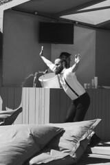 Amsterdam 2016 - Westerpark - Bevrijdingsdag (PhotompNL) Tags: street blackandwhite bw white black monochrome amsterdam canon blackwhite noir noiretblanc zwartwit outdoor hipster nederland sigma weiss paysbas blanc schwarz niederlande feher straat neherlands fekete   waternet  eos5dmarkii
