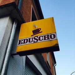 Eduscho sign (Like_the_Grand_Canyon) Tags: coffee kaffee