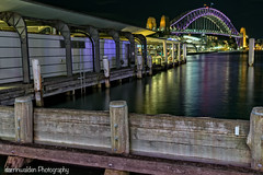 Vivid Circular Quay (darrinwalden Photography) Tags: bridge water lights harbour sony sydney vivid australia quay wharf