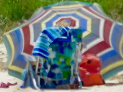 Beach (daropo67too) Tags: beach beachchair beachumbrella