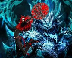 Vengeful Threads - Oni - Genre (catsrage17) Tags: carries mayfly lovecats slink estyle analogdog vengefulthreads wowskins