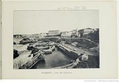 Fasc. 64, f. 16. Biarritz, port des pcheurs (Library ABB 2013) Tags: france album bnf franais biarritz nationallibraryoffrance bibliothquenationaledefrance 1890