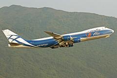 VQ-BRJ Boeing 747-8HVF, AirBridge Cargo (Flyboy104) Tags: ru hkg abw vhhh b748 ahkgap vqbrj