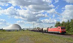 152 028-7 DB Cargo (vsoe) Tags: railroad train germany deutschland engine eisenbahn railway bahn freighttrain zge gterzug gterzugstrecke