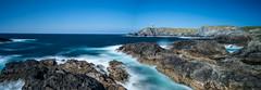 Meiras_DSC1446-Pano-17052016 (Miguel A. Quints V.) Tags: sea landscape faro mar playa paisaje panoramic panoramica acantilados meiras d810 landscaperocks bigstopper lee09neutraldensitysoftgrad leelandscapepolariser