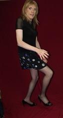 DSCF7920 (Rachel Carmina) Tags: tv legs cd tgirl transvestite heels pantyhose crossdresser trap tg nylons femboi