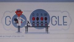 Karl Landsteiner (streamer020nl) Tags: vienna wien b usa holland netherlands austria google o arts ab medical doodle doctor karl bloed wenen 2016 bloodgroups bloedgroep landsteiner 140616