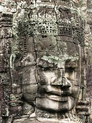 Lokevara (Kelly Rene) Tags: texture stone architecture asia cambodge cambodia southeastasia khmer outdoor religion buddhism kh siemreap bodhisattva battambang bayon indochina angkorthom avalokitevara lokevara krongsiemreap