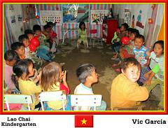 Lao Chai Kindergarten (vicbrasil) Tags: people vietnam kindergarten hanoi sapa laochai hilltribe cuong hoalu northeastregion northwestregion redriverdeltaregion