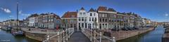 Middelburg - 03051603 (Klaus Kehrls) Tags: panorama zeeland stadt architektur kanal middelburg niederlande brcken walcheren
