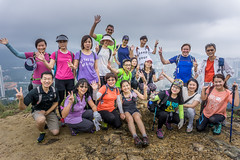 Happy hikers above Sha Tin Wai... (antwerpenR) Tags: china hk cn hongkong asia southeastasia asean