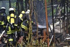 Hfen: Gartenhttenbrand Campingplatz Hfen - 21.05.2016 (GoldstadtTV) Tags: campingplatz hfen gartenhausbrand