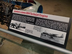 Junkers Jumo 004 Turbojet Engine (lee.ekstrom) Tags: world ohio two museum 1 war force air engine first korea vietnam viet national ii planes patterson wright base dayton nam 004 junkers turbojet jumo i