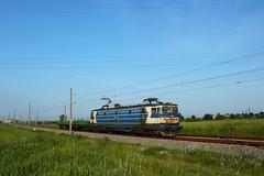 46 010 with train 80721 (geobg) Tags: train cargo bulgaria locomotive freight yambol bdz