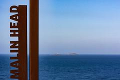 Malin Head (ghostwheel_in_shadow) Tags: ireland sea sign coast europe eire coastal donegal connaught malinhead republicofireland mediaandcommunications inishtrahullisland banbascrown