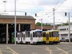 Tatra KT4DtM, #122 & #141, Tramwaje Szczeciskie (transport131) Tags: tram tramwaj tsz tramwaje szczeciskie szczecin zdzit tatra kt4dtm