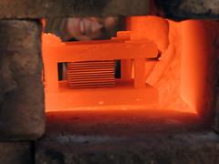 DSCN4209 (teddmcdonah) Tags: hammering bonding arizonastateuniversity 2016 mokumegane airhammer patterning metalsclub diffusing patternedmetals mokumeganeworkshop diffusionbondedmokume liquidphasediffusionbonding