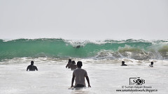 Breaking Wave (Suman Kalyan Biswas) Tags: sea portrait india seascape beach nature silhouette outdoor splash touristspot breakingwave puri bayofbengal puribeach odisha puriseabeach indianpopularbeach      turbulentkineticenergy
