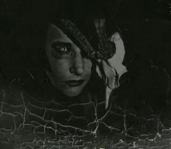 Teufelswerk (One-Basic-Of-Art) Tags: devil evil photoscape fotografie dster dunkel finsternis teufel dunkelheit photography canoneos350d canoneos canon 1basicofart annewoyand teufelswerk gothic brennen tot death mort brand nostalgie alt old