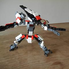 DSCN6737 (alfa145q_lego) Tags: lego legocreator vehicletransporter 31033 alternate futureflyers 31034 mecha rebuild