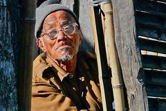 India-Arunachal Pradesh-Ziro-Apatani tribe (venturidonatella) Tags: portrait people india persona asia persone sguardo tribe ritratto gentes d300 minorities arunachalpradesh ziro minoranza apatani nikond300