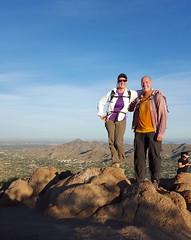 Early morning climb - Camelback Mtn. - Arizona