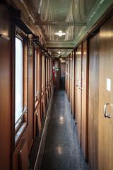 Sovvagn, interir (Michael Erhardsson) Tags: empty skandinavien nopeople korridor bjs interir 2016 tget vagn erleben emptyrooms tgresa sovvagn ombord