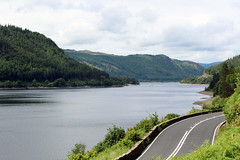 Thirlmere (Cumberland Patriot) Tags: road park mountain lake mountains english water lakes reservoir national cumbria thirlmere cumbrian a591