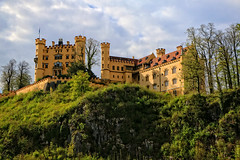 Schloss Hohenschwangau, (2of 3) (louelke - home again) Tags: castle germany bavaria schlosshohenschwangau kingludwigii kingmaximilianii