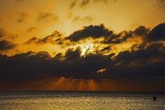 _40A4086 (ChefeGrande) Tags: sunset sky reflection silhouette clouds landscape texas outdoor coastal sunrays seashore sunsetfishing wadefishing
