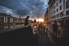 Florence mood (apedromagalhaes) Tags: street sunset italy canon florence canon1740l canon6d