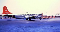 Chicago Midway Airport Northwest Airlines - Boeing 377 (Stratocruiser) (twa1049g) Tags: chicago 1955 airport northwest boeing midway airlines 377 stratocruiser n74603