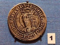 James III King of Scots, Silver Groat at Tutbury Castle, Staffordshire (Brownie Bear) Tags: uk england james scotland coin king britain united iii great kingdom gb staffordshire scots tutbury staffs