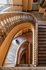 Escaleras III (Sergio Nevado) Tags: madrid architecture stairs arquitectura artes escaleras circulo bellas