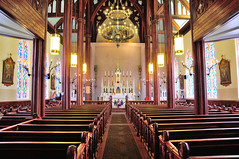 St. Mary's in the Mountains Catholic Church (J-Fish) Tags: church nevada nave virginiacity romancatholic d300s 1685mmf3556gvr 1685mmvr stmarysinthemountain