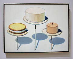 Display Cakes, by Wayne Thiebaud (JB by the Sea) Tags: sanfrancisco california painting sfmoma financialdistrict waynethiebaud sanfranciscomuseumofmodernart june2016