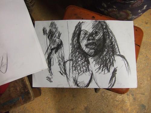 Travaux des élèves des ateliers de dessin peinture 2016